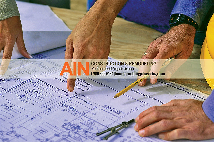 AIN Construction and remodeling, experts, home repair, coachella valley