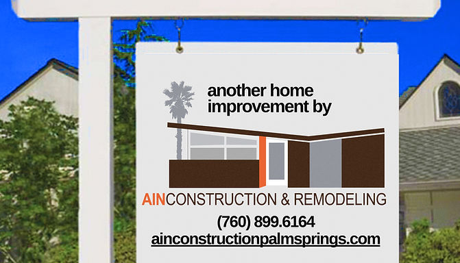 AIN Construction palm springs, realtors looking for home improvement companies in palm springs, coachella valley, 92262, 92260, inland empire, redlands, painting, tile, pool repair, resurfacing, whole home remodeler