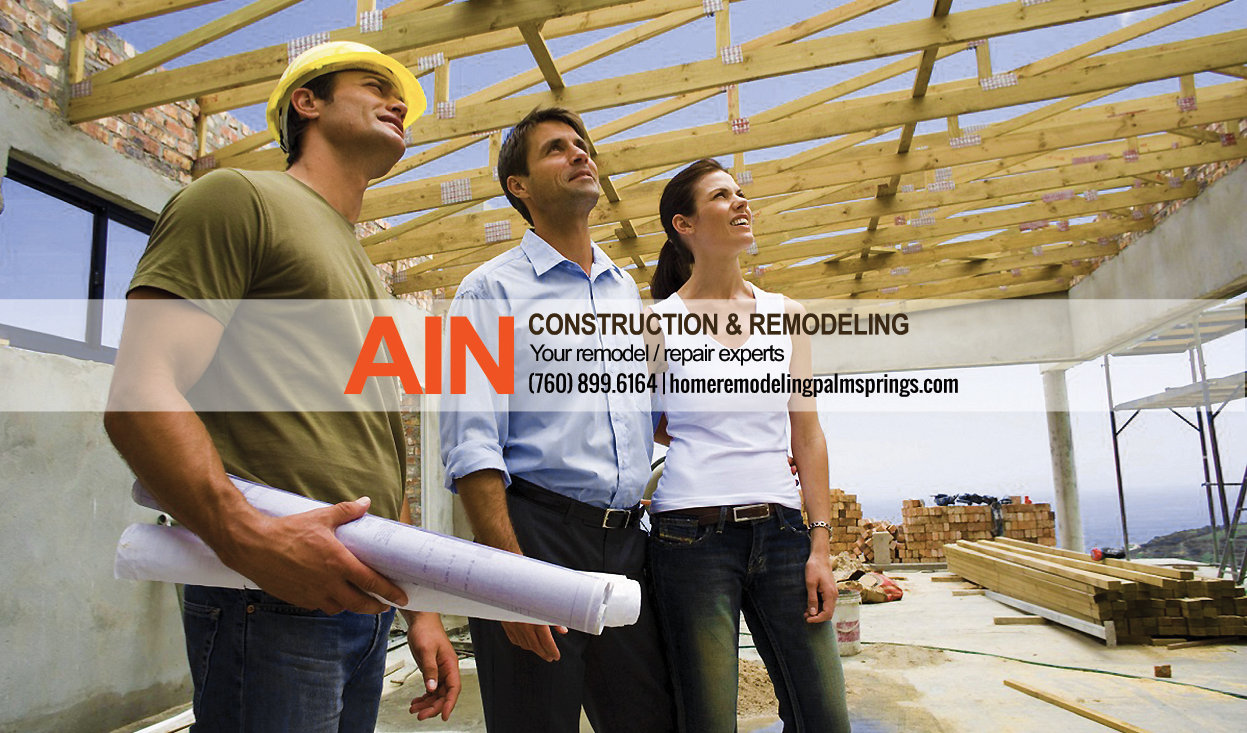 home remodeling contractors in palm springs, ca, throughout Coachella Valley