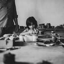 ceramica e concentrazione per i bambini