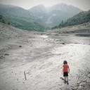 Lago di Vagli in secca