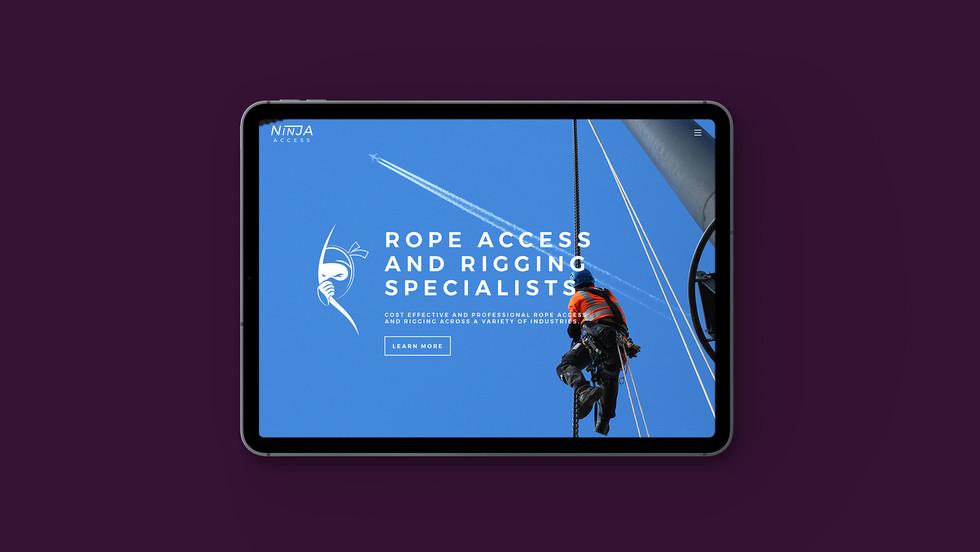 Ninja Access Homepage