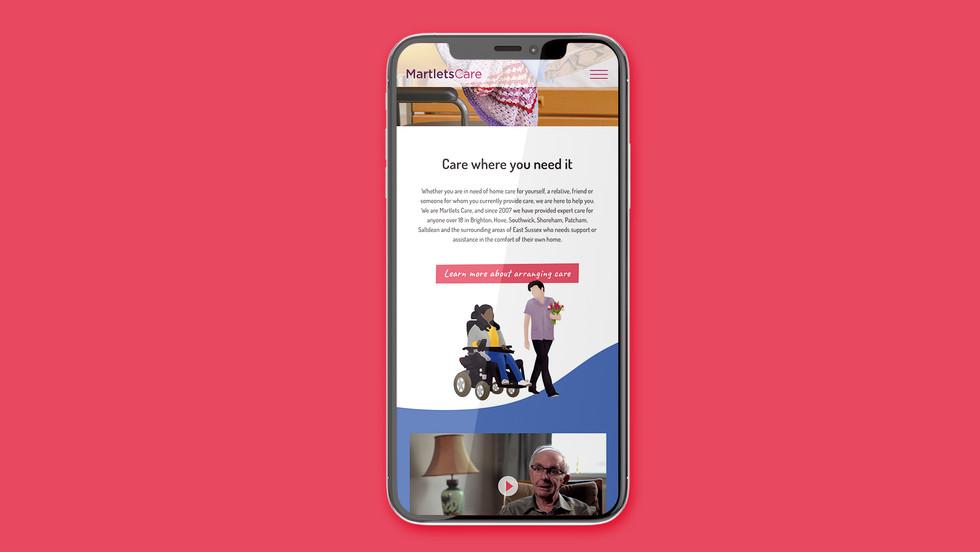 Martlets Mobile Site