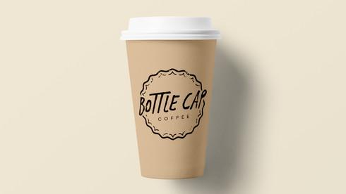 Bottle Cap Coffee   Logo Design