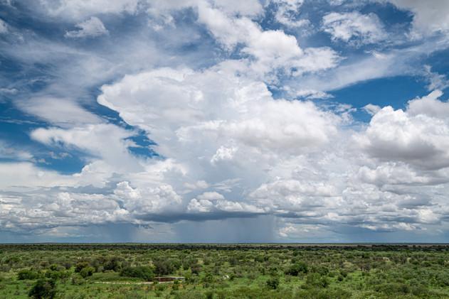 Building Cumulonimbus in the Kalahari