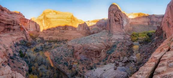 Panoramic of Coyote Gulch
