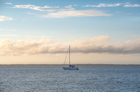 Sloop in the Bay