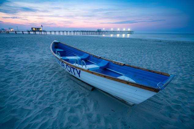Life Boat at Ventnor Beach