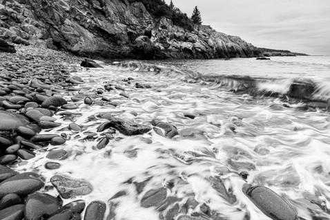 Receding Tide on the Cutler Coast