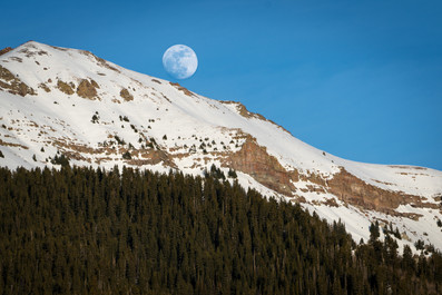 Moonrise in Telluride