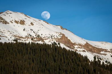 Moonrise in Telluride