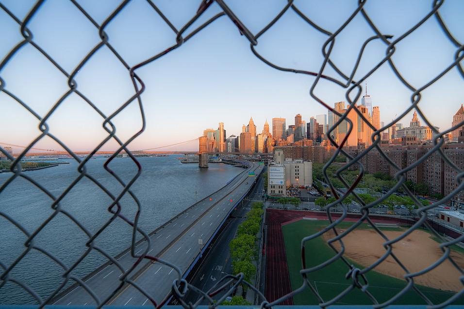 Sunrise on Lower Manhattan