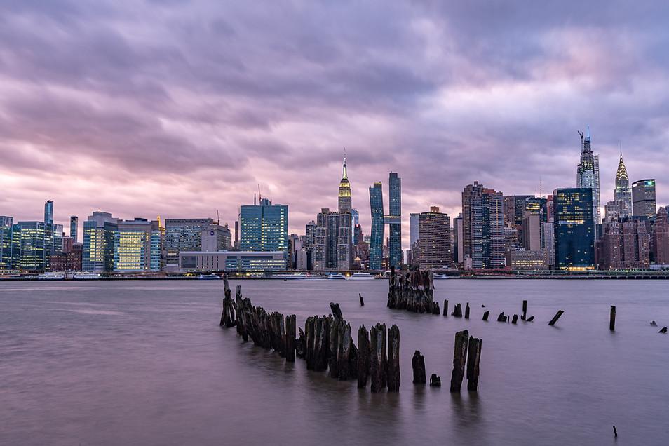 Stormy Skies over Manhattan