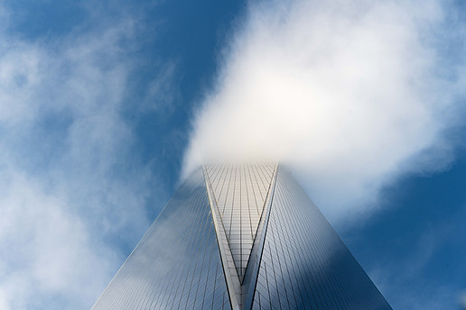 Clouds over World Trade Center