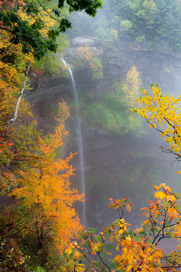 Kaatrerskill Falls in Autumn