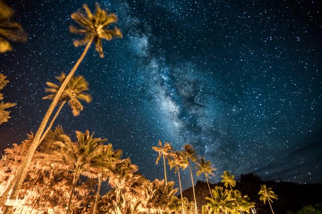 Milky Way on the Big Island