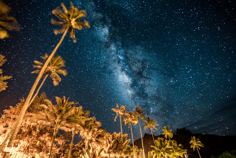 Milky Way on the Big Island