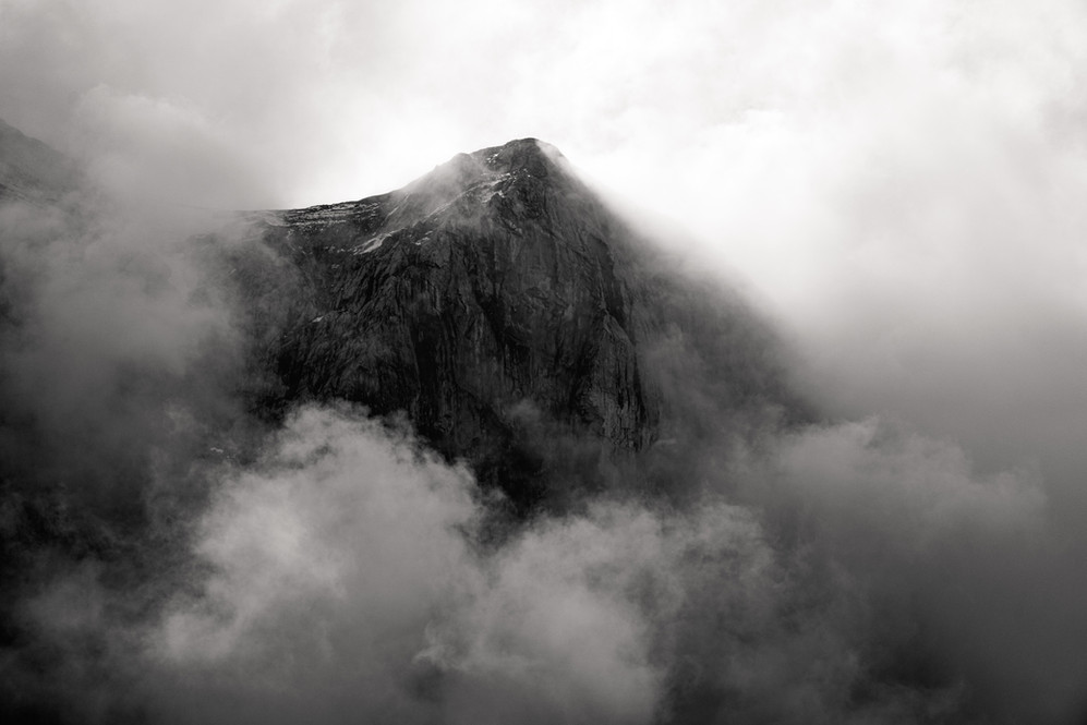 Cloud Shrouded Peak