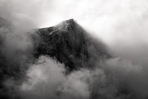 Cloud Shrouded Peak