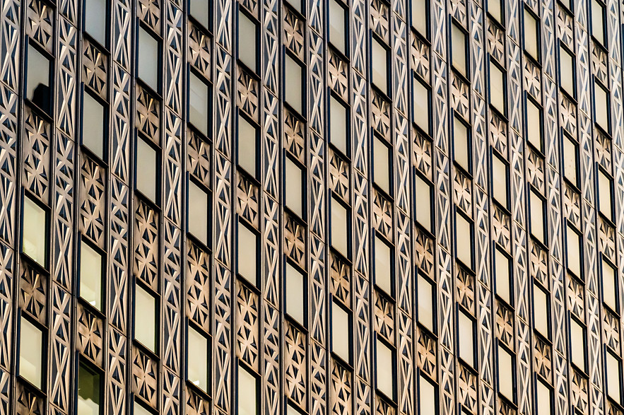 Reflections on the Socony-Mobil Building