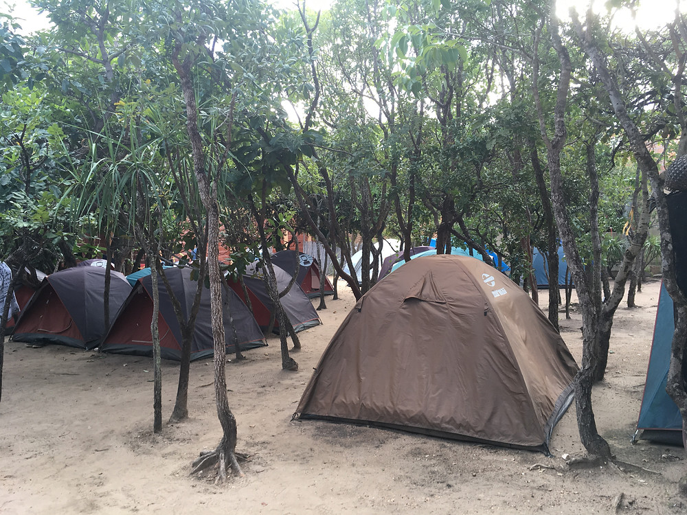 viaje com pouco - camping taiua chapada dos veadeiros