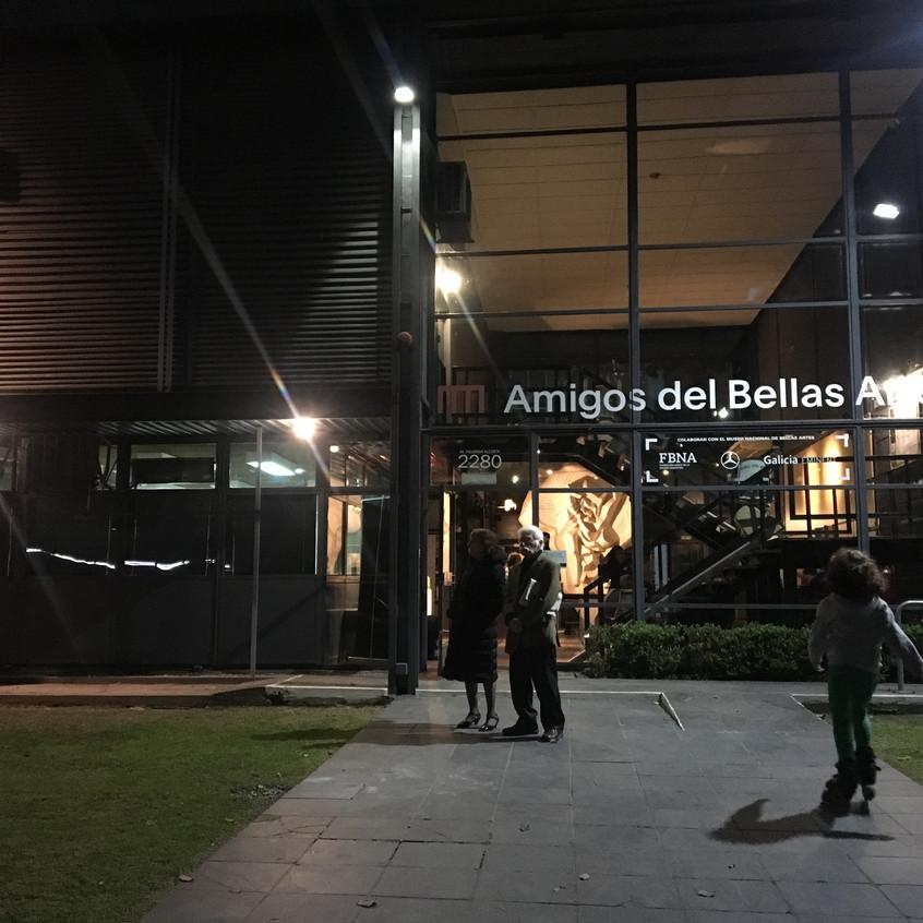 Museu de Belas Artes em Buenos Aires
