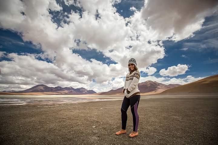 Laguna Blanca - Deserto do Atacama - viaje com pouco