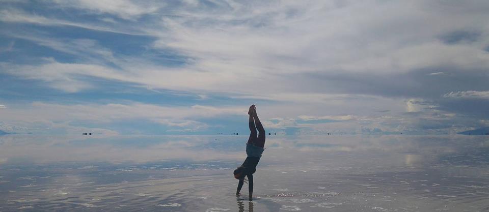Salar de Uyuni inundado