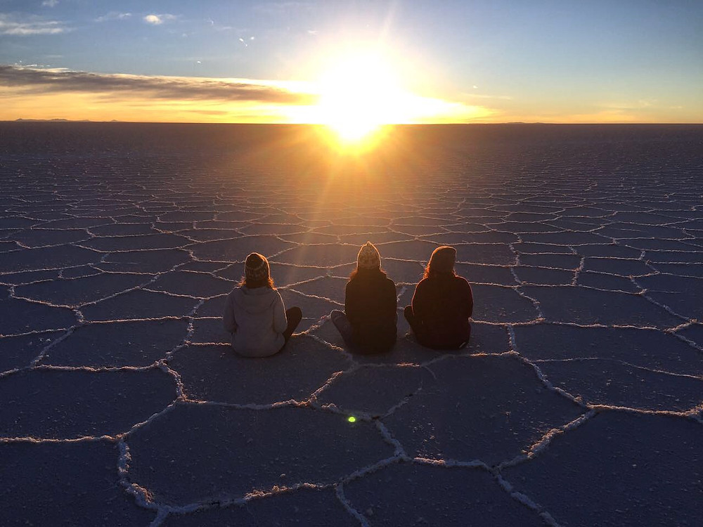 Salar de Uyuni seco