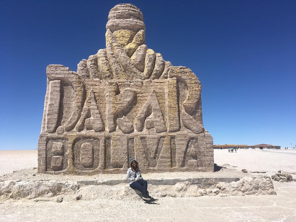 Dakar Bolivia - viaje com pouco