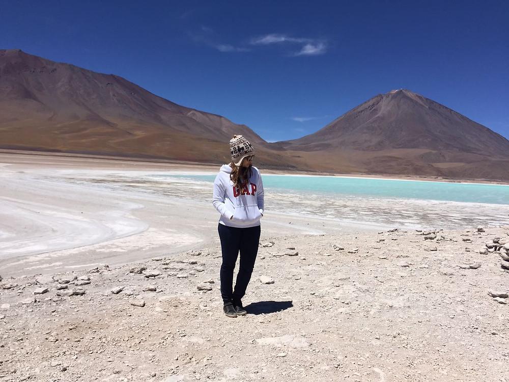 Laguna Verde - Deserto do Atacama - viaje com pouco