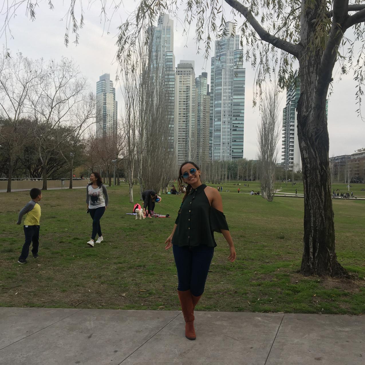 Parque Mujeres Argentinas em Buenos Aires
