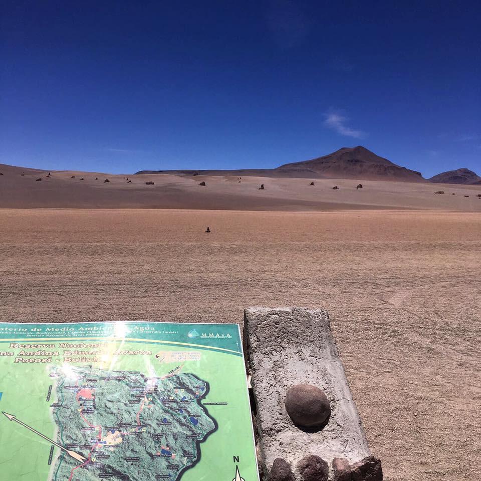 Deserto de Dali - viaje com pouco