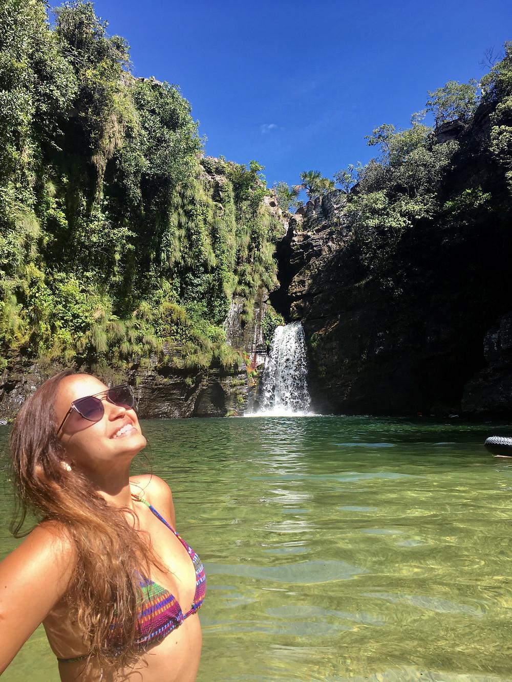 Cachoeira Rei do Prata - Chapada dos Veadeiros
