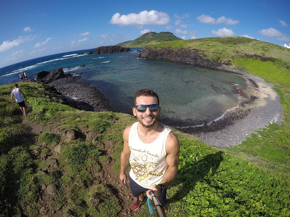 Viaje com pouco - Fernando de Noronha - Enseada dos Tubarões