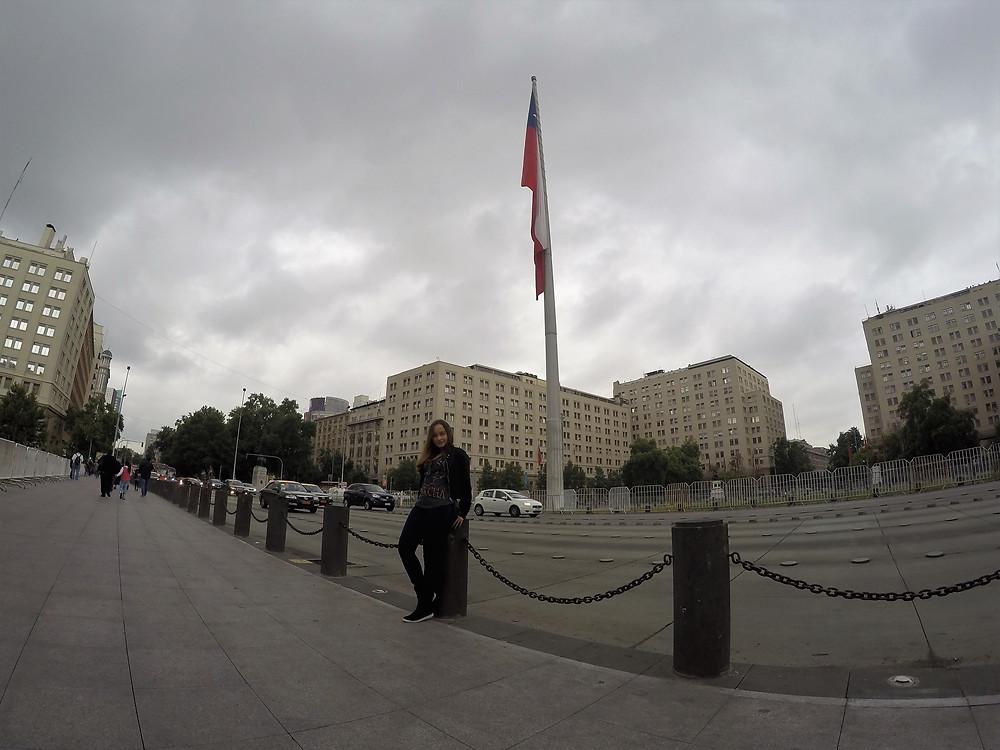 Viaje com pouco - Santiago de Chile