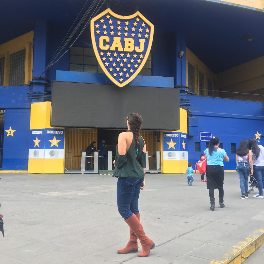 Estádio do Boca Juniors em Buenos Aires
