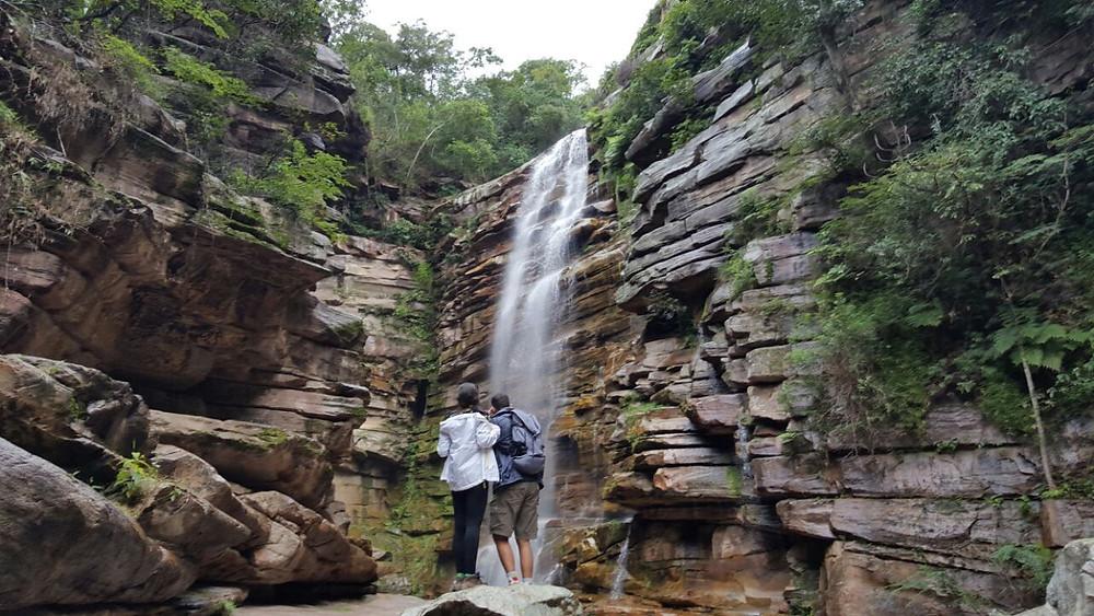 Viaje com pouco - Chapada Diamantina - Cachoeira do Mosquito