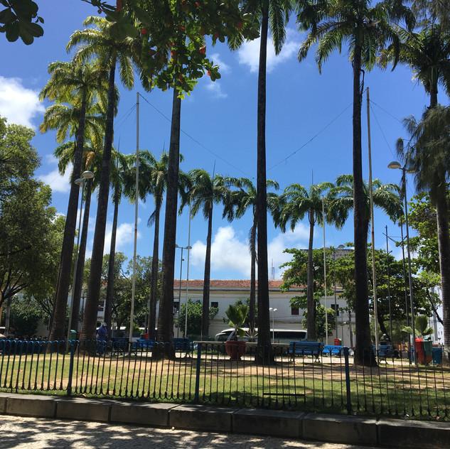 Parque Artur Oscar em Recife Antigo