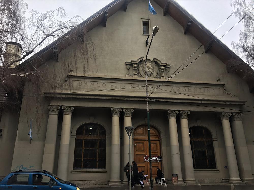 Viaje com Pouco - Banco de la Nacion Argentina - Bariloche