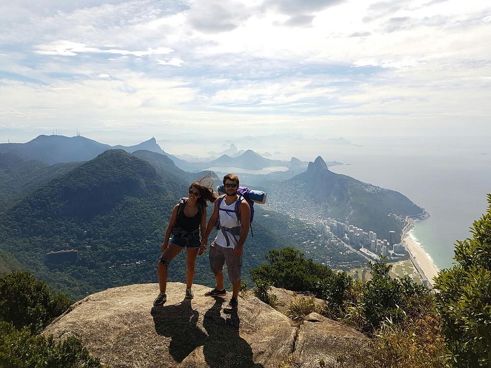 viaje com pouco - pedra da gavea rio de janeiro brasil