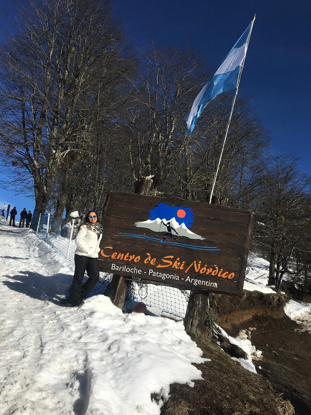 Viaje com Pouco - Ski Nordico - Bariloche, Argentina