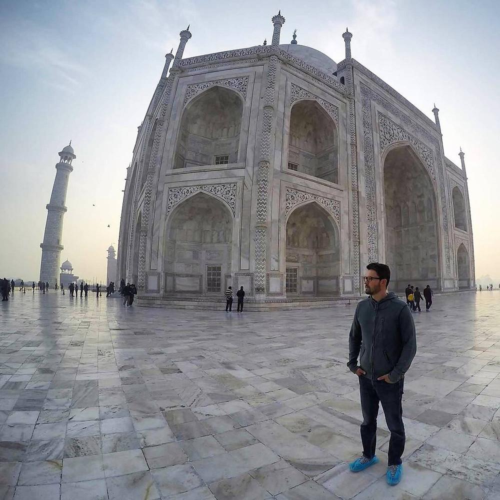 Taj Mahal - India - 7 maravilhas do mundo moderno