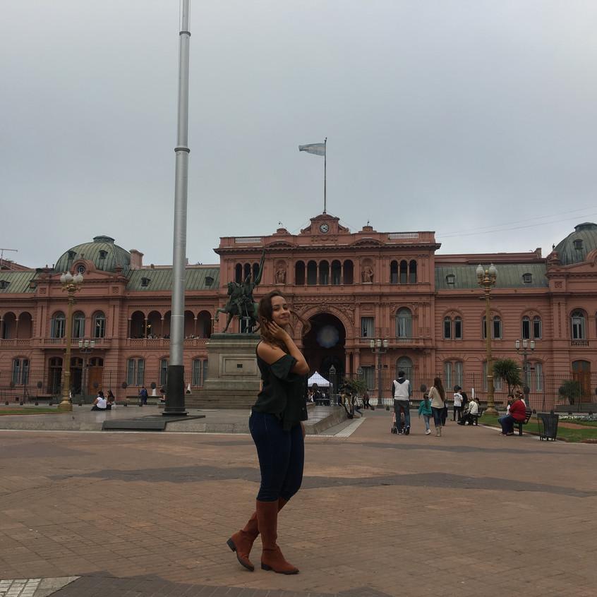 Casa Rosada em Buenos Aires, capital da Argentina