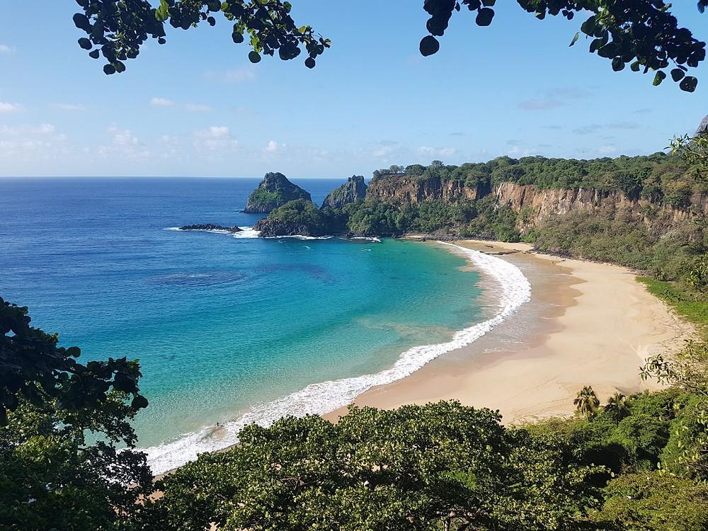 Viaje com pouco - Fernando de Noronha - Praia do Sancho