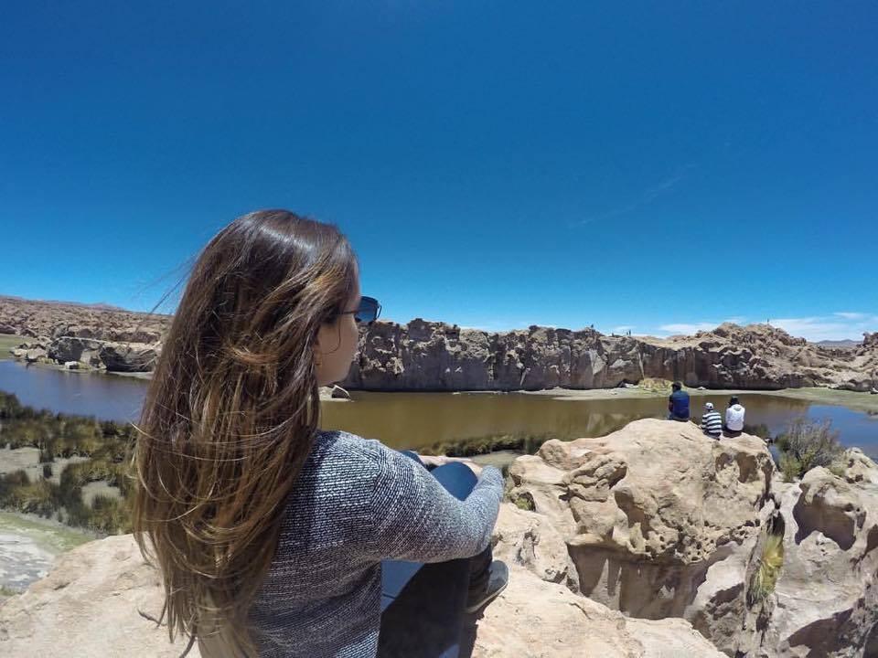 Laguna Misteriosa - viaje com pouco