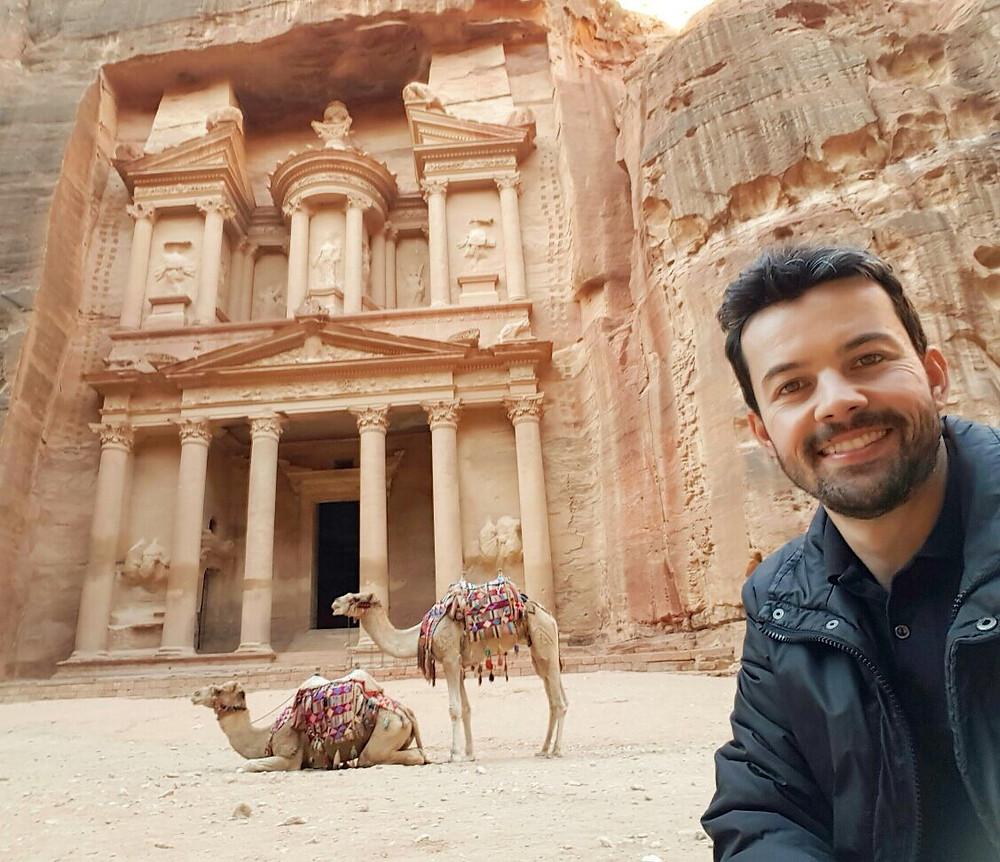 Petra - Jordania - 7 maravilhas do mundo moderno