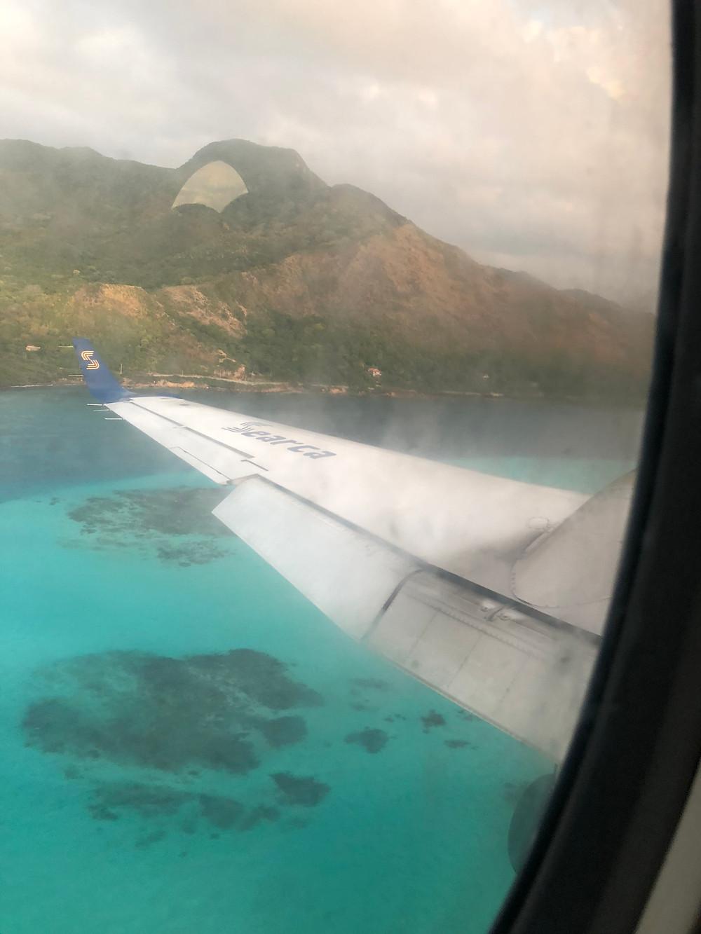 Providência vista pelo avião