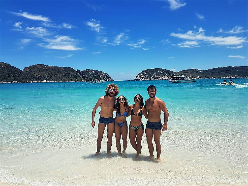 Praia da Ilha do Fsrol - Arraial do Cabo