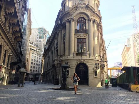 Um passeio pelo centro de Santiago - Chile